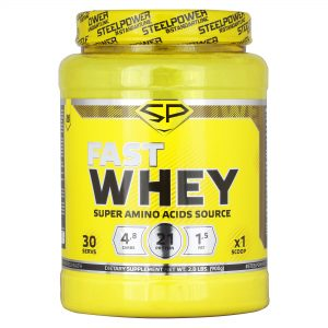 Fast Whey Protein от Steel Power Nutrition 900г