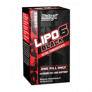 Lipo-6 Black Ultra Concentrate от Nutrex 60 капс.