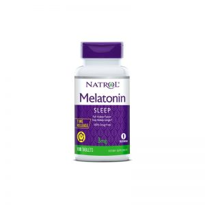 Melatonin 3 мг от Natrol 100 табл.